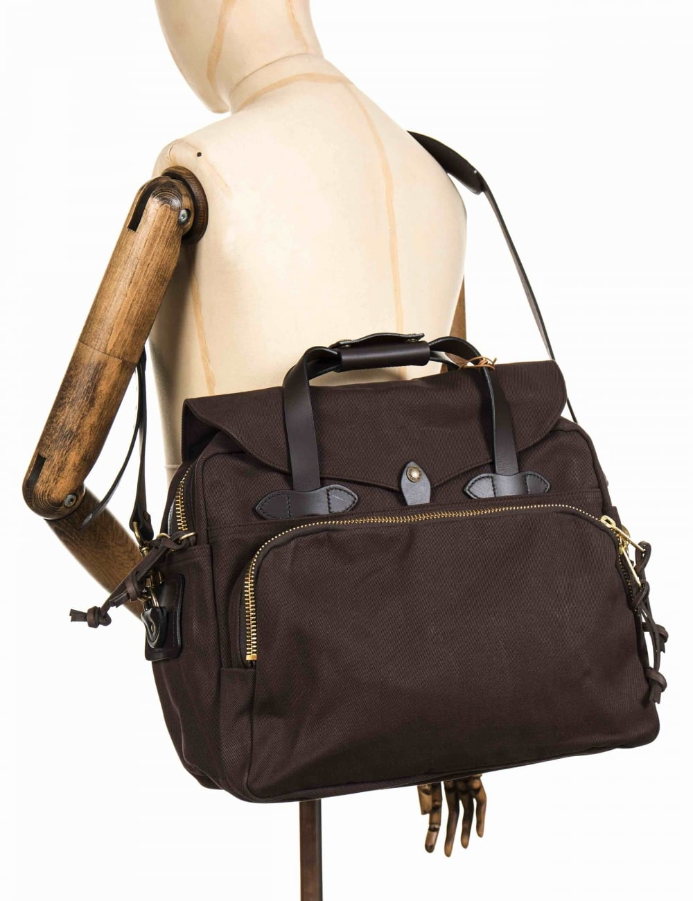 3bb0c339de17 Padded Computer Bag - Brown