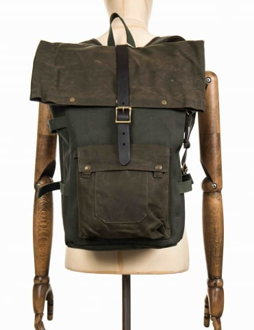 Roll Top Backpack - Otter Green