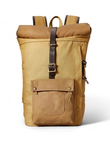 Filson Roll-Top Backpack - Tan