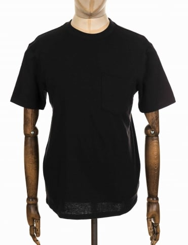 S/S Outfitter One Pocket Tee - Faded Black