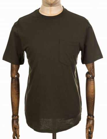 S/S Outfitter One Pocket Tee - Otter Green