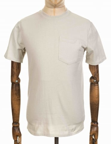 Filson S/S Outfitter One Pocket Tee - Pebble Gray