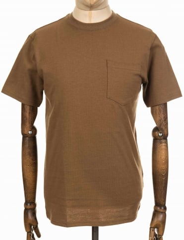 S/S Outfitter One Pocket Tee - Rugged Tan
