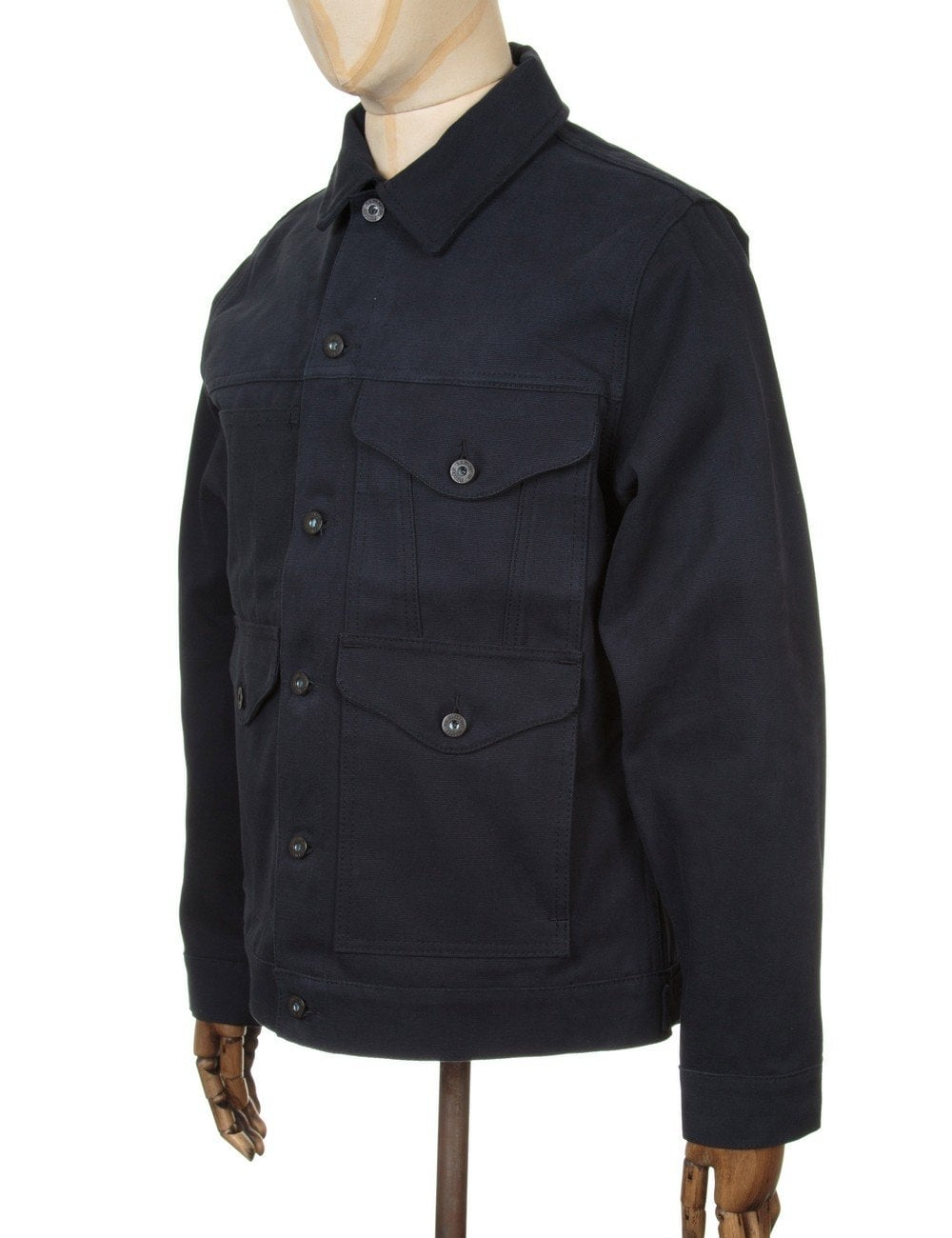 Filson Short Cruiser Jacket - Midnight Navy - Clothing from Fat ...