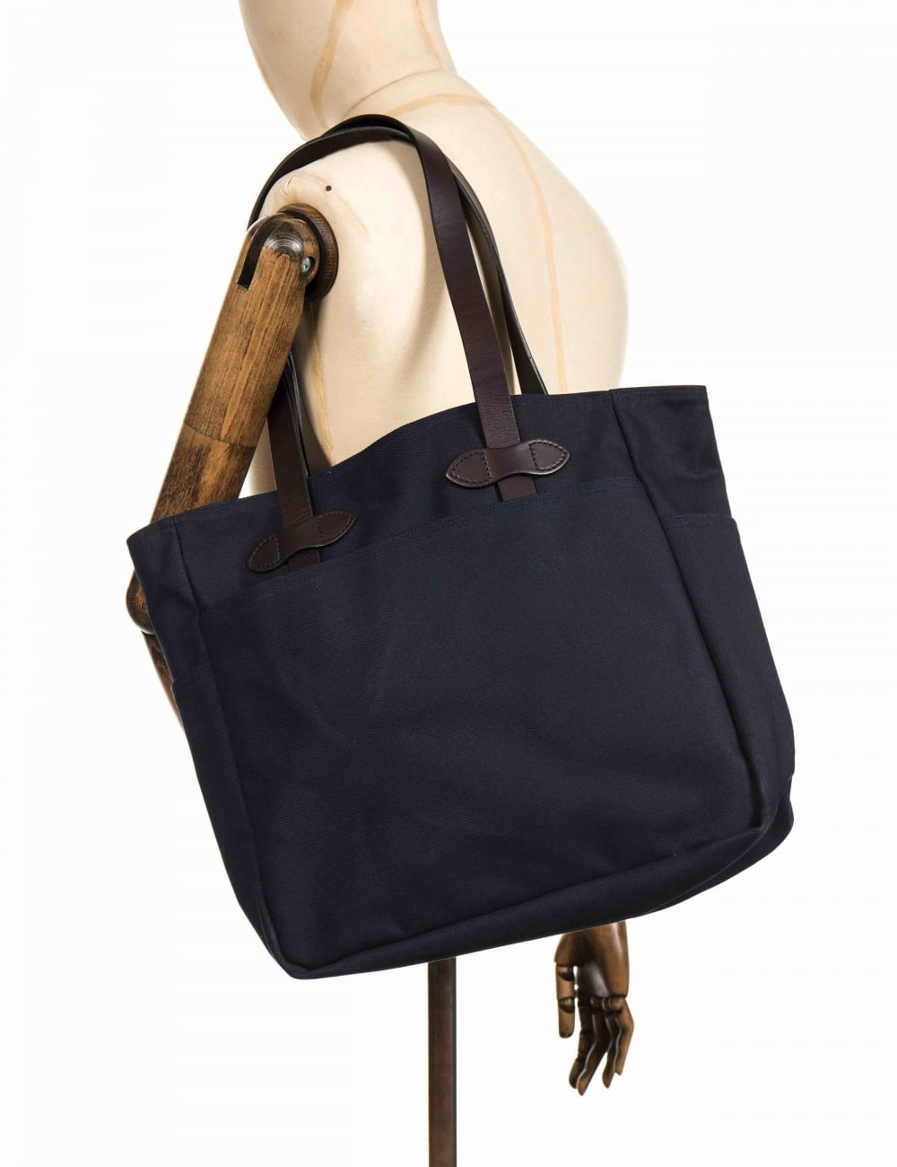 Tote Bag Without Zipper Navy
