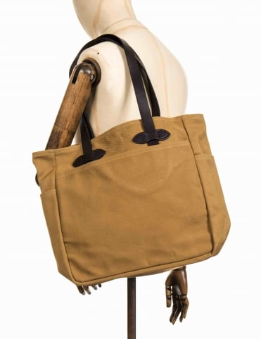 Tote Bag Without Zipper - Tan
