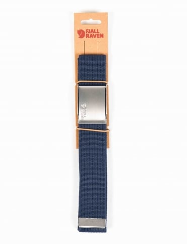 Canvas Belt - Blueberry
