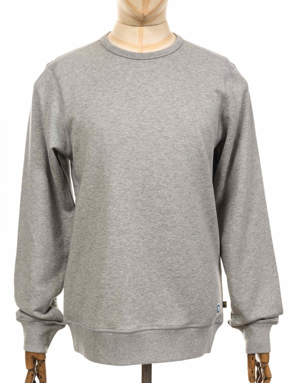 7247bcb5f Fjallraven Greenland Sweatshirt - Grey Heather - Clothing from Fat ...