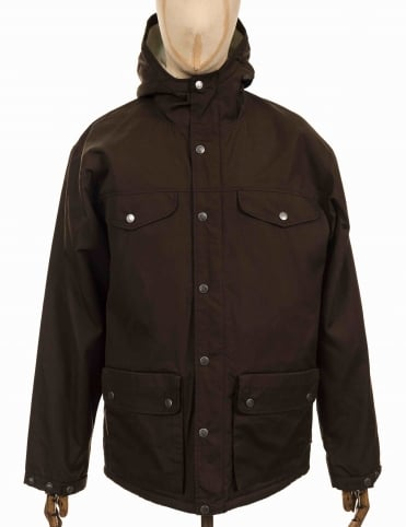 Greenland Winter Jacket - Dark Olive