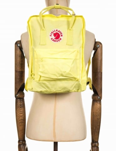 Kanken Classic Backpack - Bright Lemon