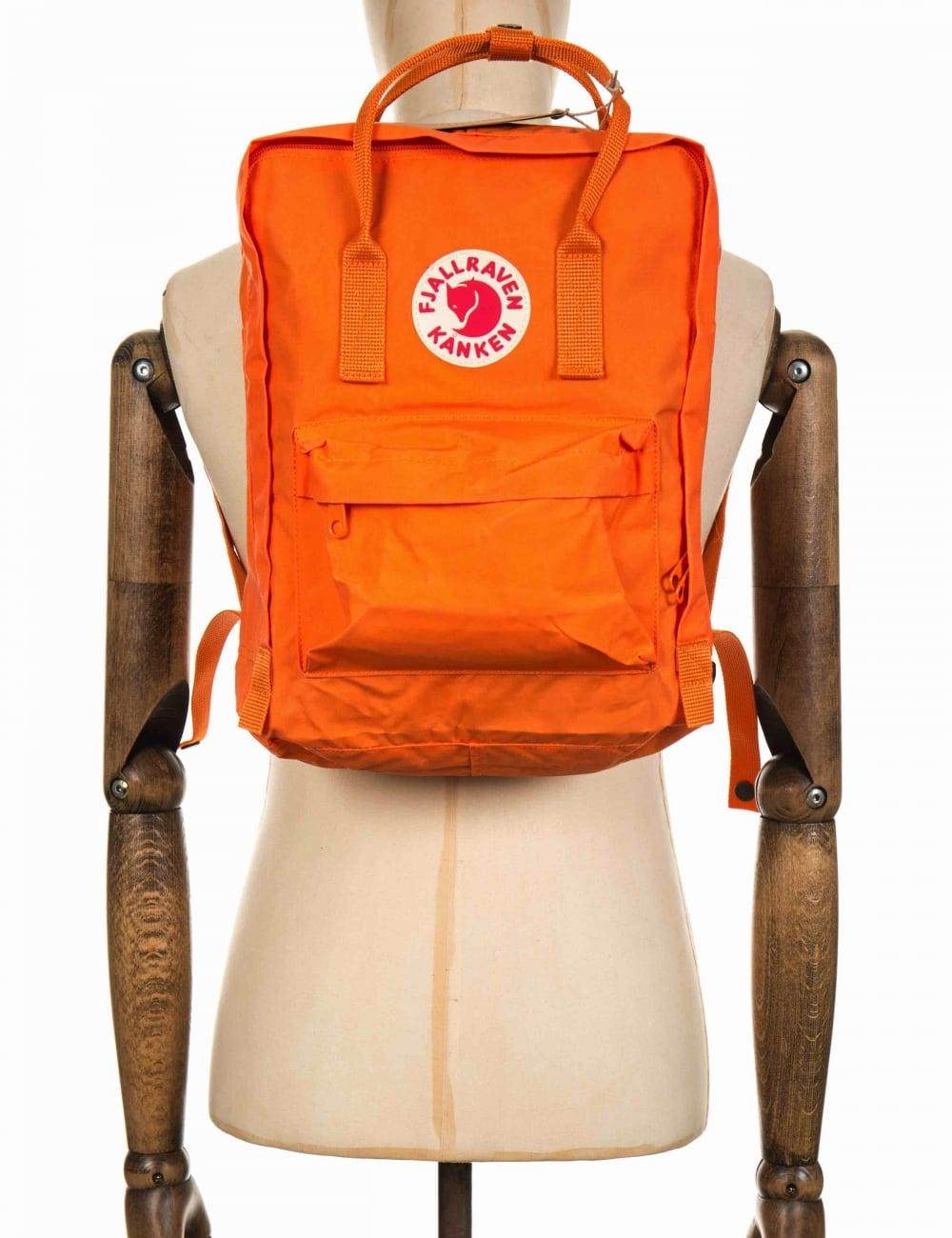 kanken rucksack burnt orange