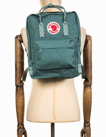 Kanken Classic Backpack - Frost Green/Chess