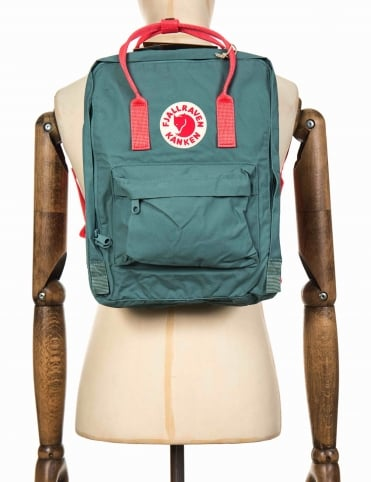 Kanken Classic Backpack - Frost Green-Peach Pink