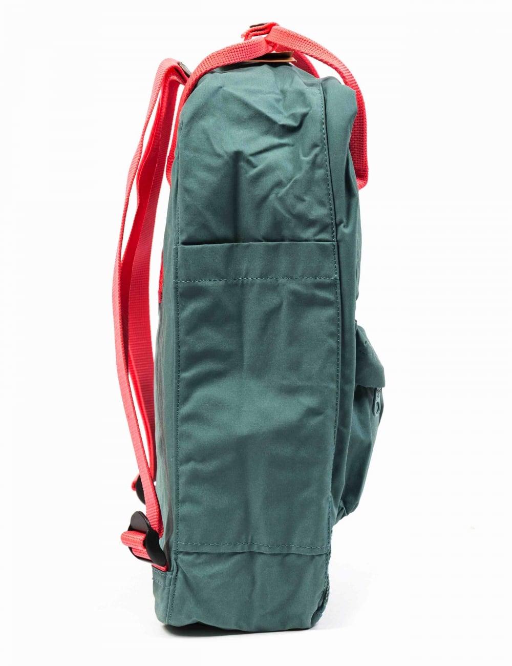 kanken backpack frost green