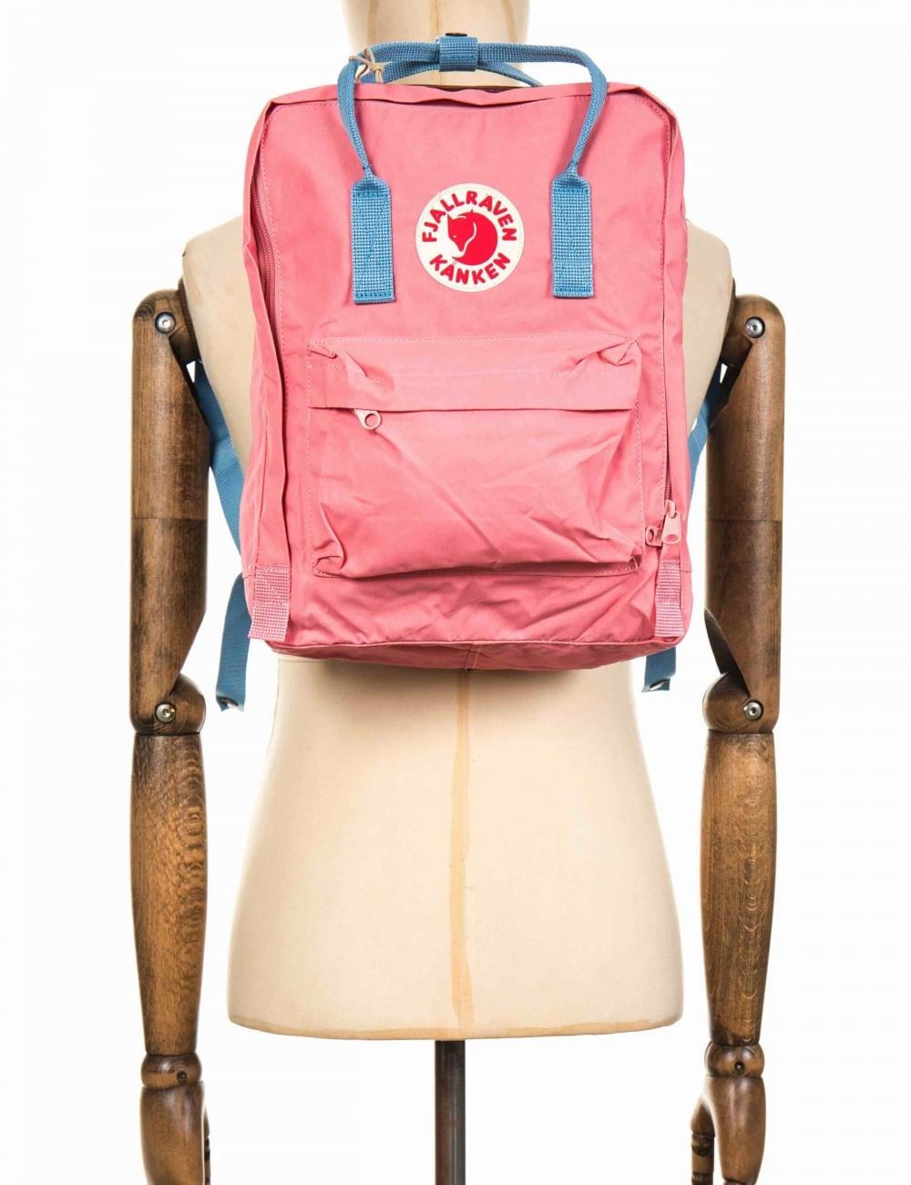 40423c99a Fjallraven Kanken Classic Backpack - Pink/Air Blue - Accessories ...