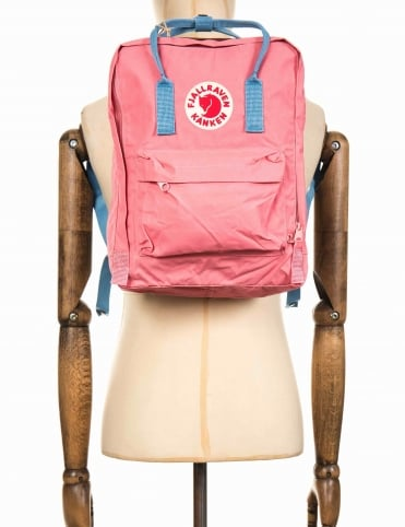 Kanken Classic Backpack - Pink/Air Blue