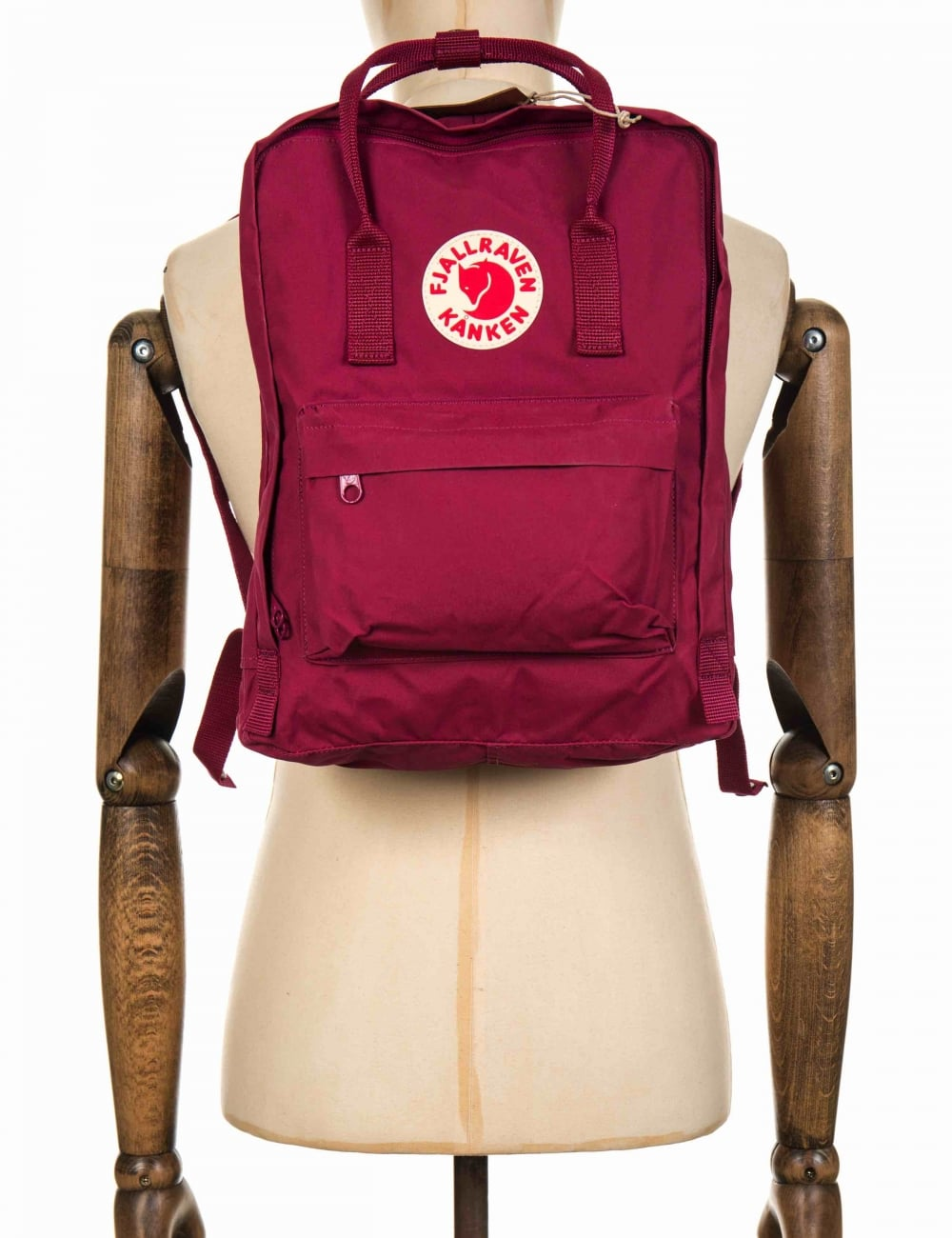 48ecbeaacb637 Fjallraven Kanken Classic Backpack - Plum - Accessories from Fat ...