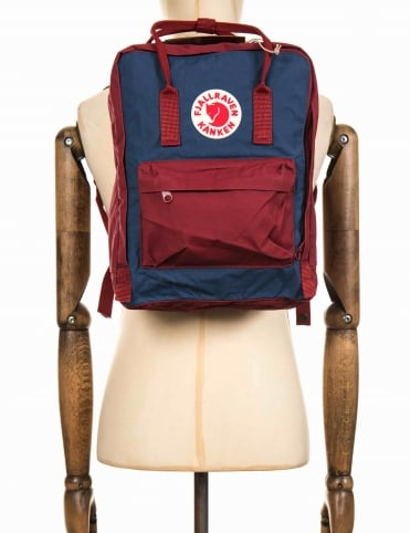 Kanken Classic Backpack - Royal Blue/Ox Red