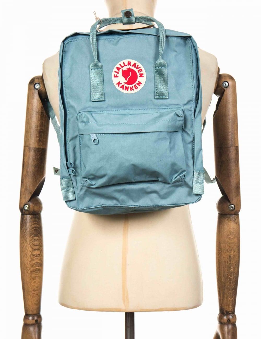 nieuwe lijst couponcodes echte schoenen Kanken Classic Backpack - Sky Blue