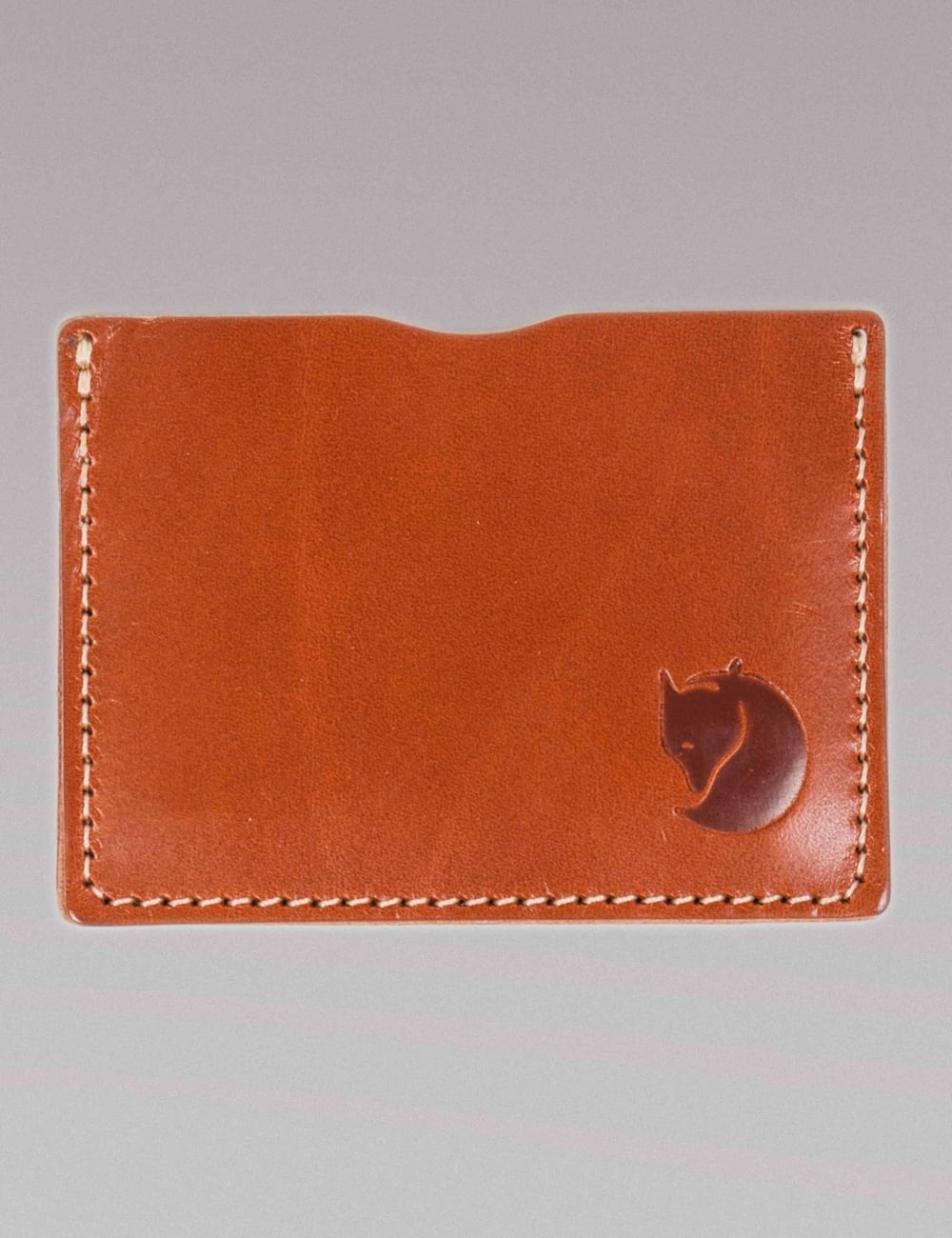 Fjallraven Ovik Card Holder - Cognac Leather - Accessories from Fat ... 4df74f20d5848