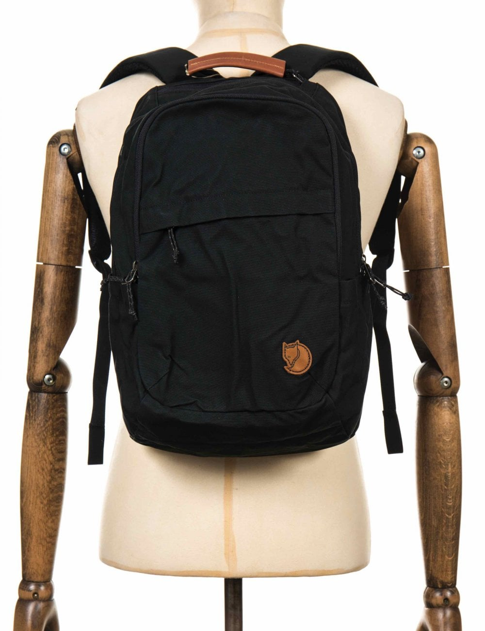 321738c52f1d Fjallraven Raven 20L Backpack - Black - Accessories from Fat Buddha ...