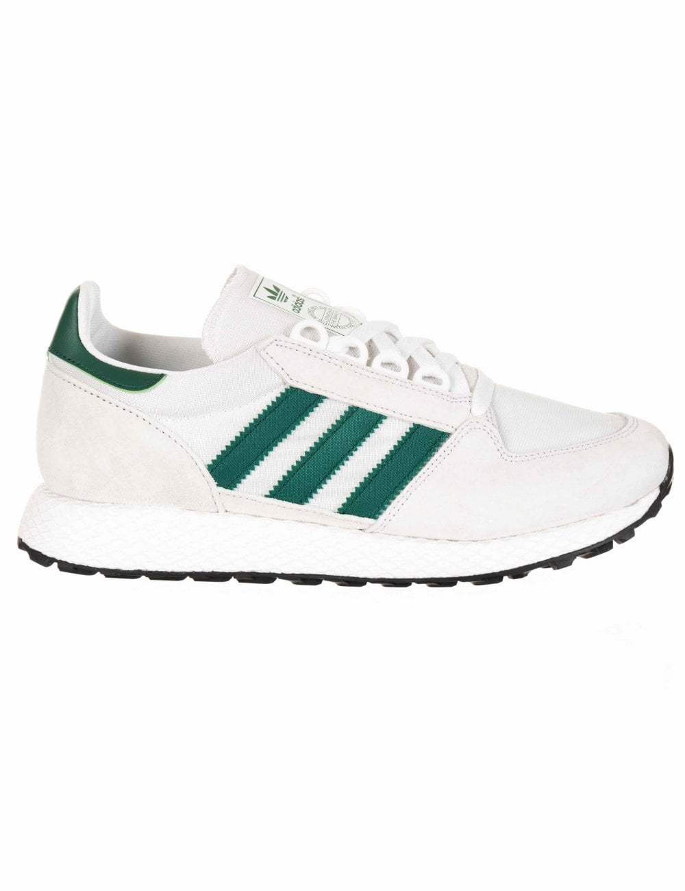 Forest Grove Trainers Crystal WhiteCollegiate Green