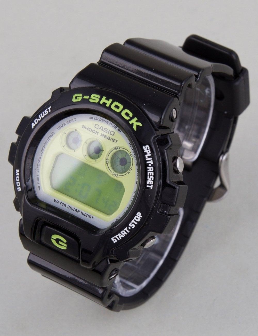 size 40 846c2 8c86a G-Shock DW-6900CS-1ER Watch - Black Green