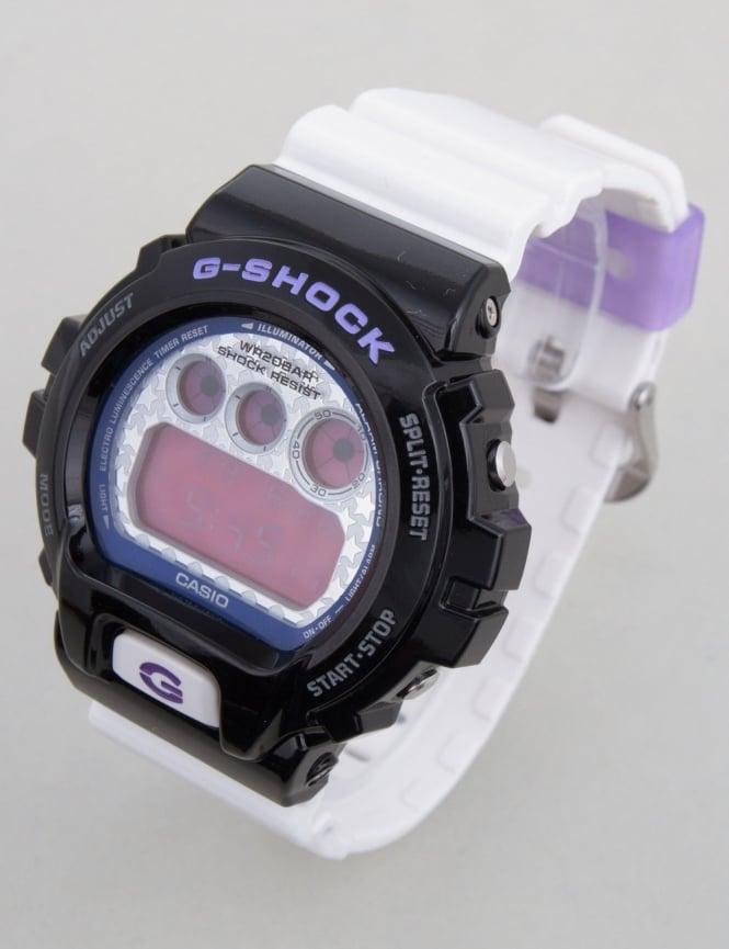 G-Shock DW-6900SC-1ER Watch - Black/White