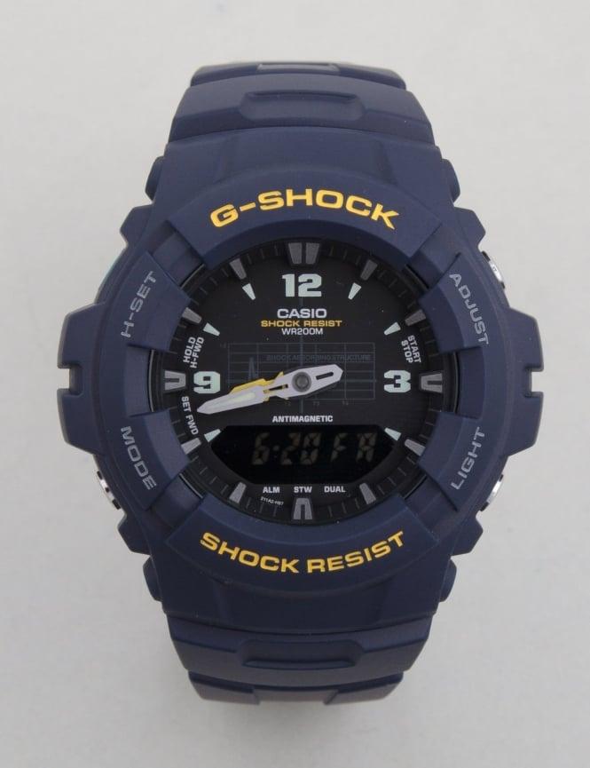 G-Shock G-100-2BVMES Watch - Blue