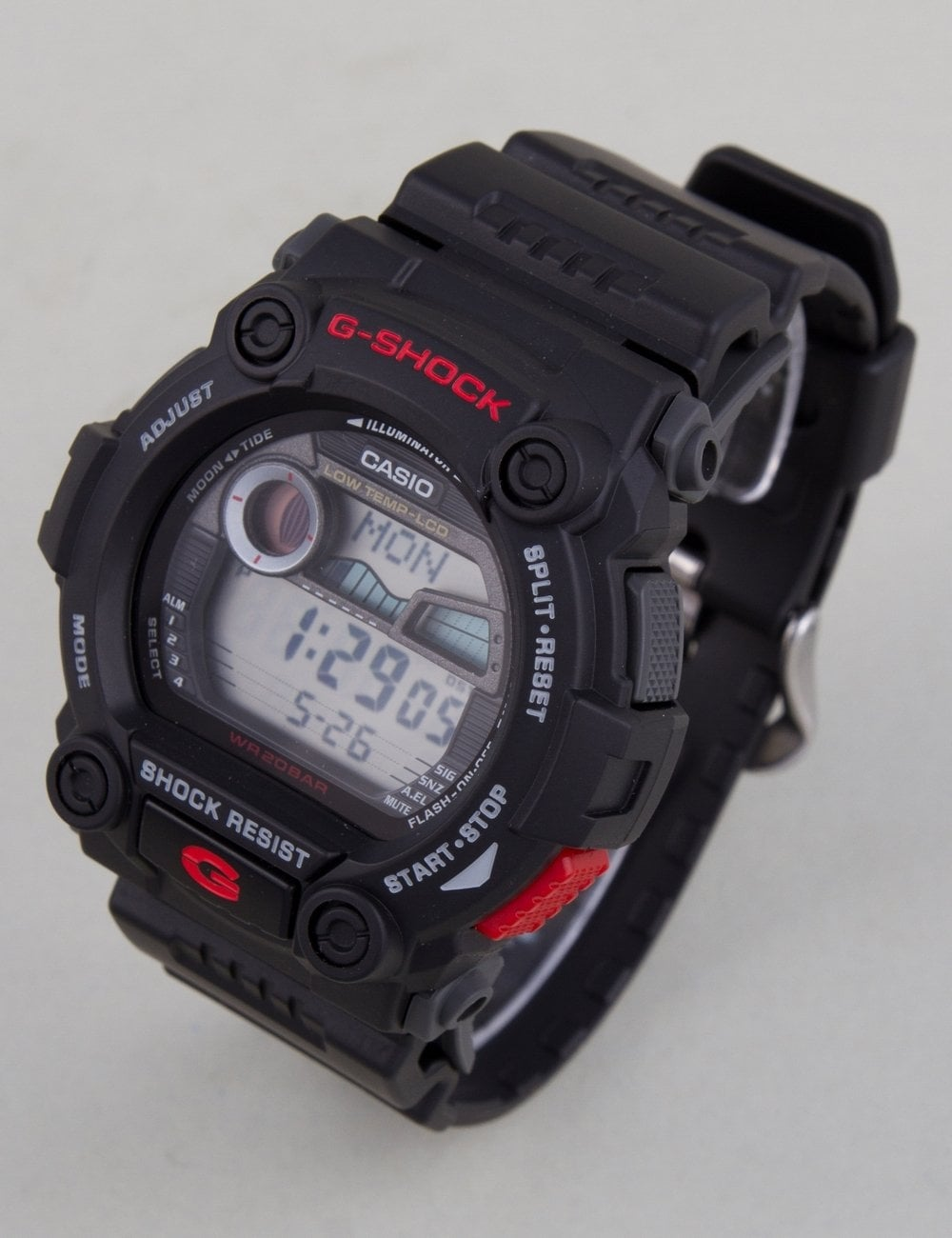 54dbabe737461 G-Shock G-7900-1ER Watch - Black Red - Accessories from Fat Buddha ...