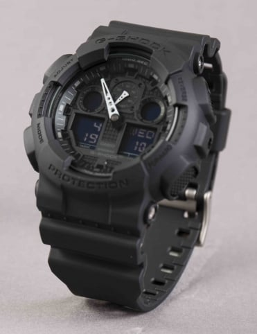 GA-100 1A1ER Watch - Black
