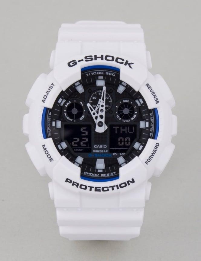 G-Shock GA-100B-7AER Watch - White