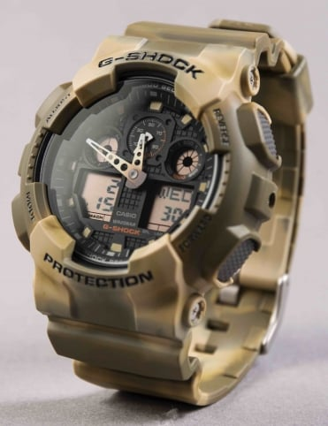 G-Shock GA-100MM-5AER Watch - Camo