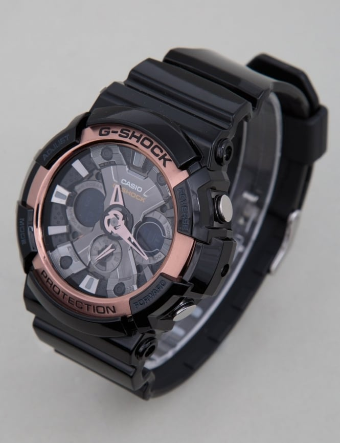 G-Shock GA-200RG-1AER Watch - Black