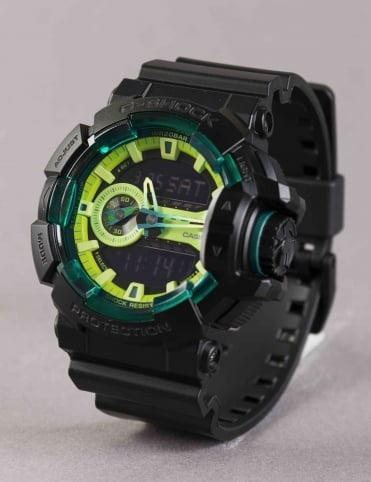 GA-400LY-1AER Watch - Black/Lime