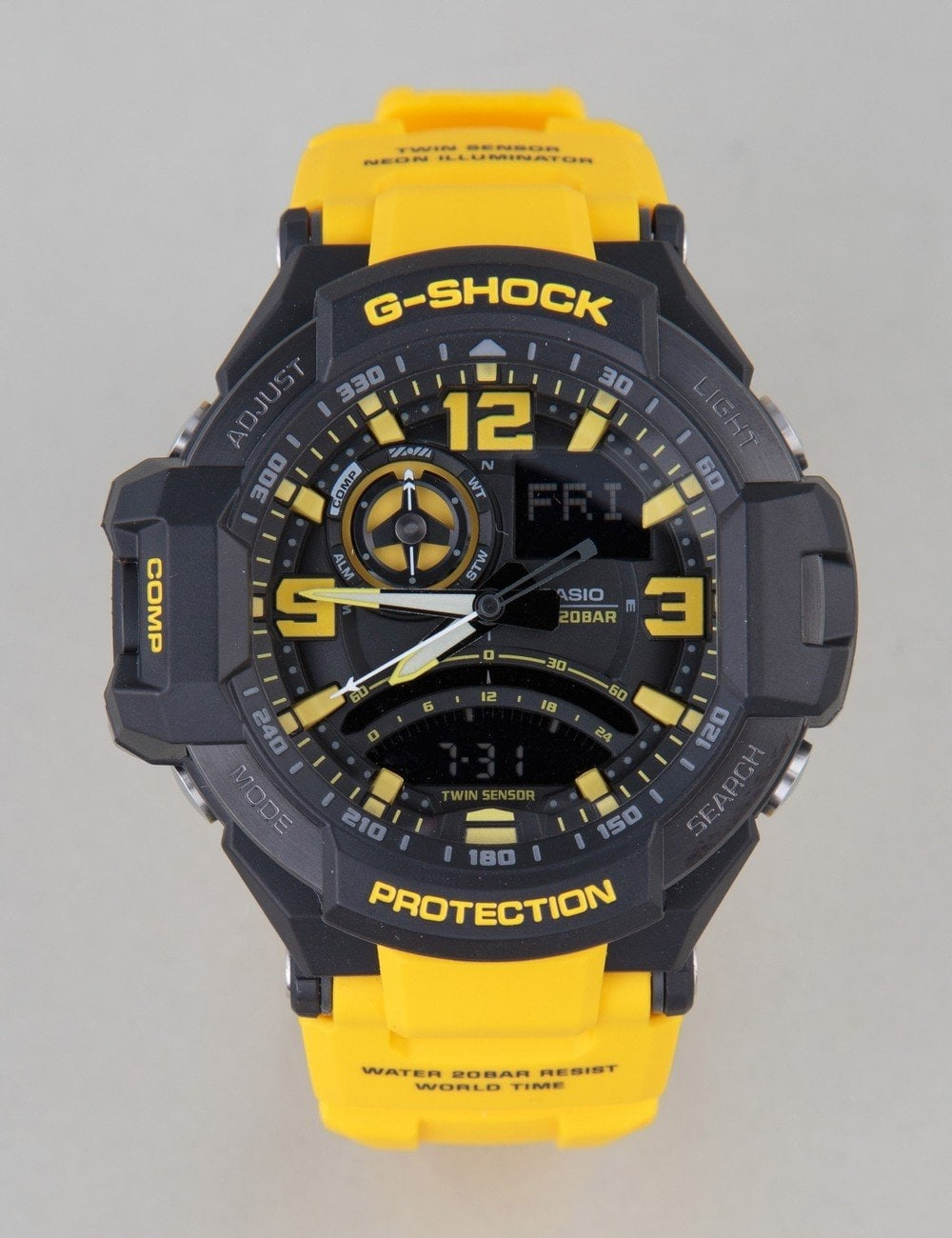 Ga1000 9ber Watch Yellow