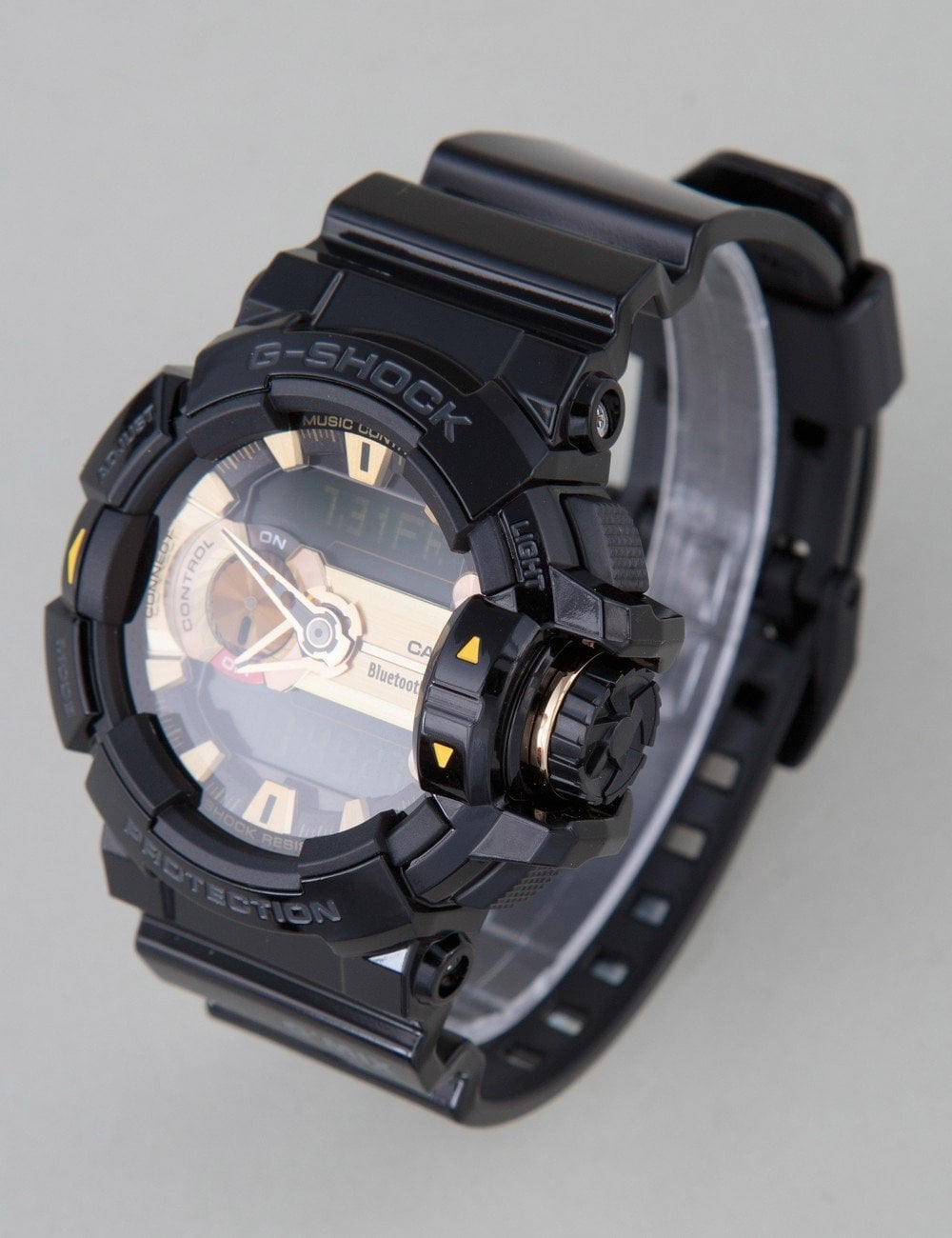 on sale 53f85 826df GBA-400-1A9ER Watch - Black/Gold