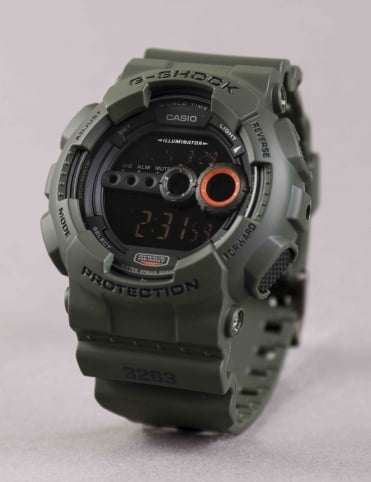 GD-100MS-3ER Watch - Green