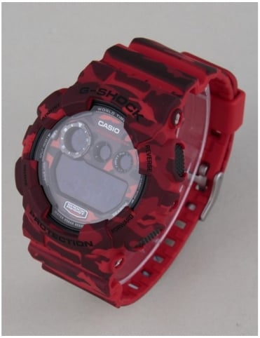 G-Shock GD-120CM-4ER Watch - Red Camo