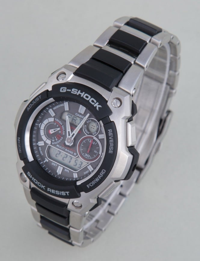 G-Shock MTG-1500-1AER Watch - Silver/Black