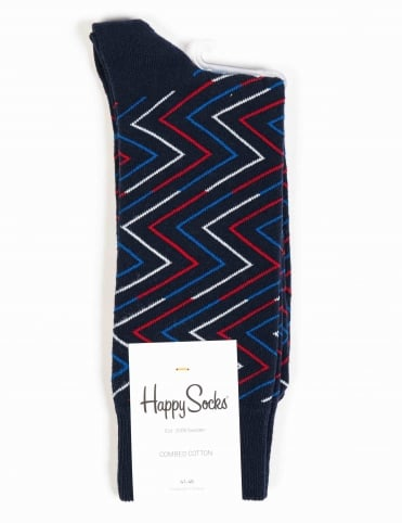 Ziggy Socks - Blue