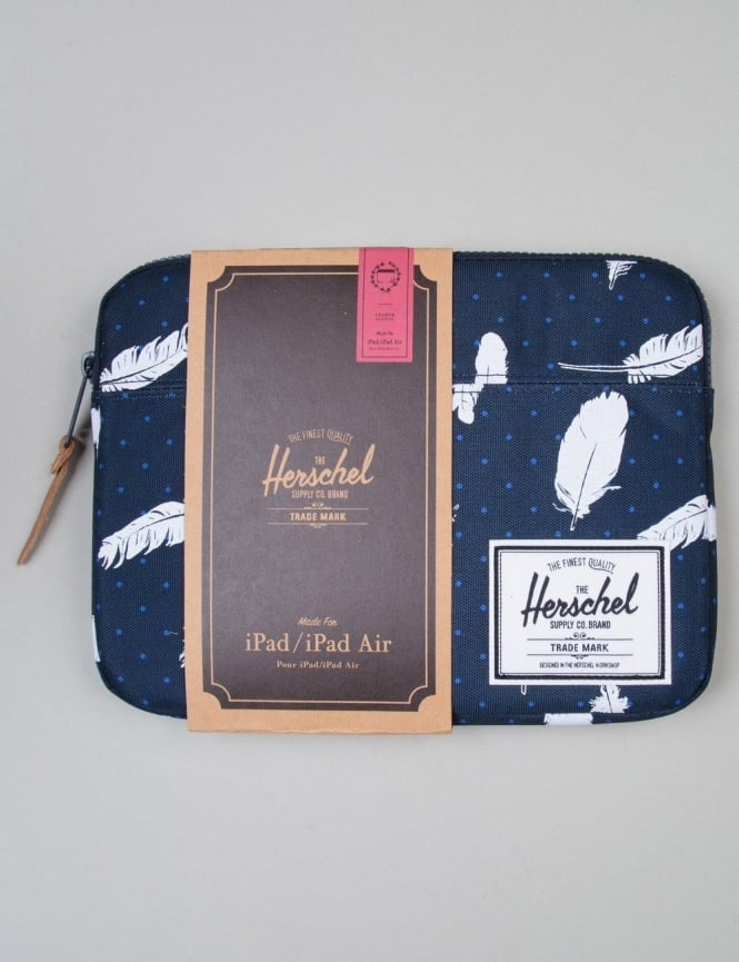 Herschel Supply Co Anchor Ipad Air Sleeve - Feather Print