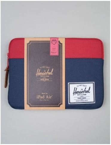 Herschel Supply Co Anchor Ipad Air Sleeve - Navy/Red