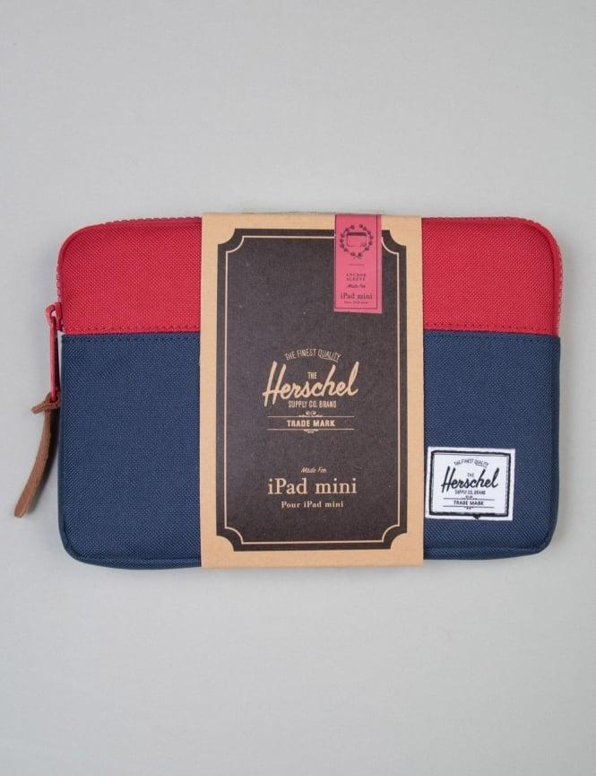 Herschel Supply Co Anchor Ipad Mini Sleeve - Navy/Red