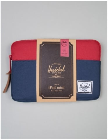 Herschel Supply Co Anchor Ipad Mini Sleeve - Navy/Red