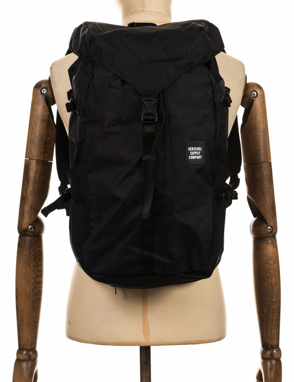 9f5d8360242 Herschel Supply Co Barlow Trail Backpack Large 27L - Black - Bag ...