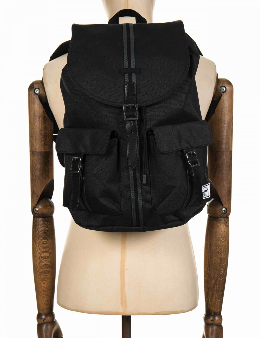 Herschel Supply Co Dawson 20.5L Backpack - Black Dark Shadow Black ... 7af837fb2a605