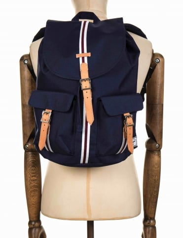 Dawson 20.5L Backpack - Peacoat/White/Windsor Wine