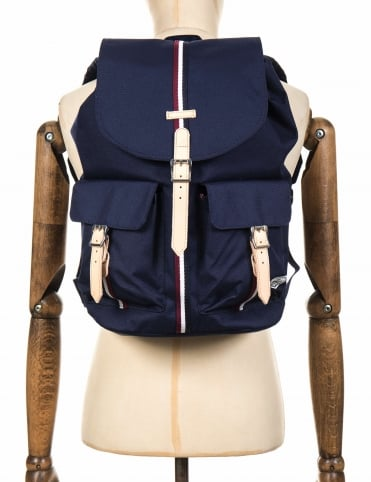 Dawson 20.5L Backpack - Peacoat/Wine/White