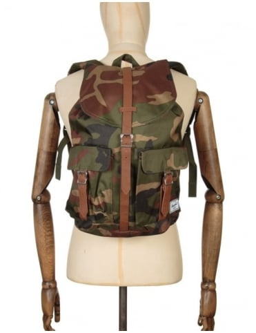 Dawson 20.5L Backpack - Woodland Camo/Tan